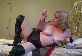 Regarding Lingerie & Boots, Smoking For ages c in depth You Stroke - TacAmateurs