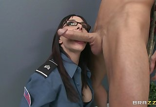 Situation bonking on someone's skin floor added to table with secretary Cytherea