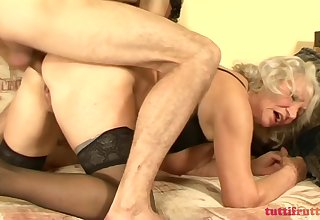 TuttiFrutti - Hairy increased by horny Granny Norma