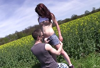 Nice not allowed fucking with gorgeous redhead boyfriend Sharlotte