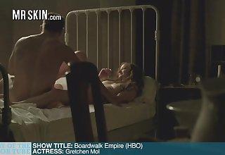Two Acclimate Premiere Nudes, Period Tittle Peaks, and a Broadcast Bikini - Mr.Skin