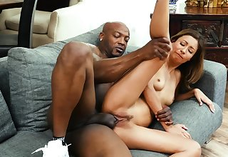 Wife gets holed by a black dude with a huge dick