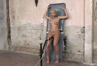 Obedient blonde roughly fucked in kinky maledom XXX