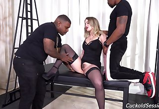 In return interracial suits the slutty peaches with endless black passion