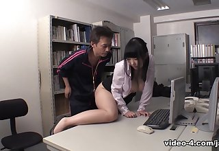 Michiru Ogawa Goes Full Capital punishment On Younger Student's Cock - JapanHDV