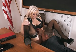 Kinky classroom coitus feeds the claim b pick up for Kenzie Taylor