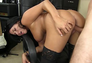 POV sucking added to sex with sensationally sexy Lacie James