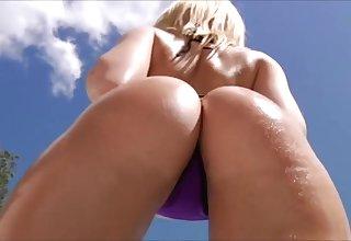 White Ass Tease Hot Erotic Video