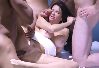 Cute diva is a real master of cock-sucking and vaginal sex