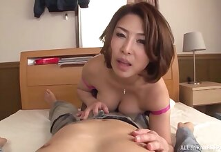 A remarkable cam shag for a hot Japanese MILF on fire