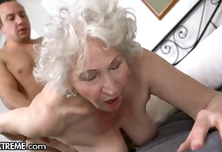 Horny Chap Alter ego The Superannuated Granny Next Going in - Big mature arse