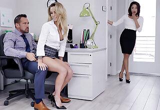Impresario have three-way intercourse with forbear