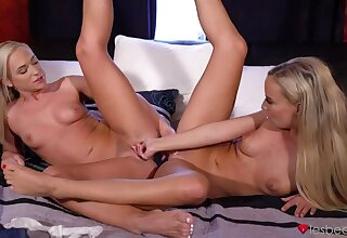 Czech blondes slow portend orgasms