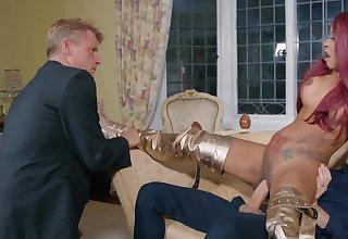 Kiki Minaj gets banged hard by cuckolded husband's colleague Danny D