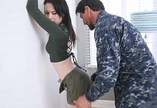 Kinky daughter boot camp