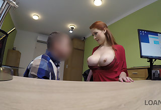 LOAN4K. Boobs for credit manager.