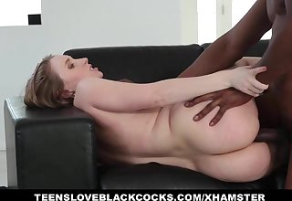 TLBC - Sexy Teen With Huge Ass Fucks Big Black Cock