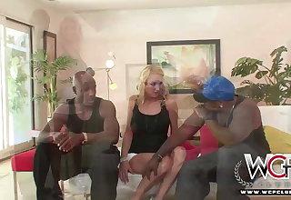 WCP CLUB Housewife Black Rose Anal Creampied