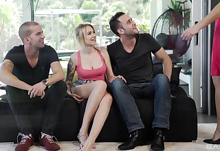 Getting screwed together makes Tina Kay and her friend happy