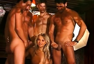 Entertain horny big boobs tie the knot gangbang
