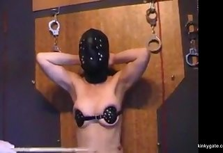 New humiliation and punishment for the mature slave alien Munich.