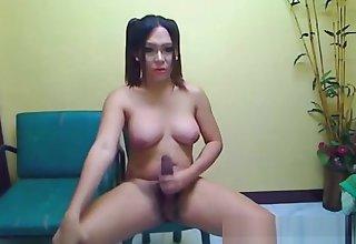 breasty ladyboy receives naked And Masturbate