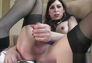 One of someone's skin hottest tranny Aly Sinclair teasing herself