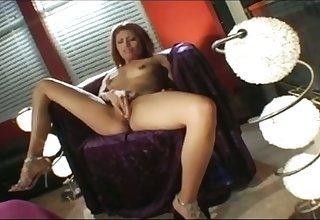 Naked bitch flashes tits winning taking stiff dick into her slutty brashness