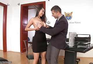 Office sex with jaw-dropping beauties in the hottest compilation ever