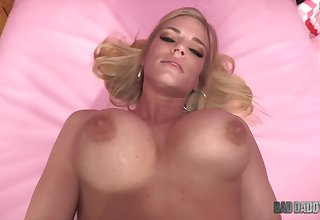POV porn with busty blonde Rachel Cavalli - Thank You Stepdaddy - 4k xozilla porn movies