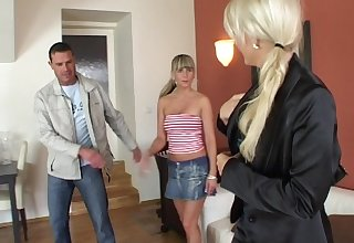 Wife loves to film the brush husband as he fucks his suitor Kristina M