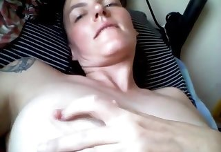 Marketable milf masturbating and sucking toes on webcam live