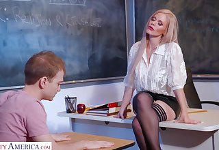 Russian coitus bomb Casca Akashova is credo her favorite student how hither satisfy girls