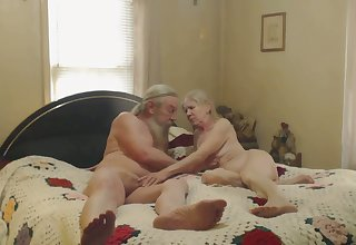 There's nothing like watching older people having sex in the bedroom